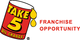 Take 5 Franchise Opportunity Logo